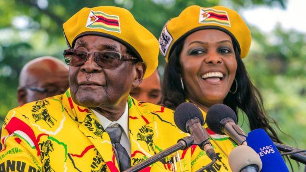 南非总统祖马证实:穆加贝被软禁于其家中