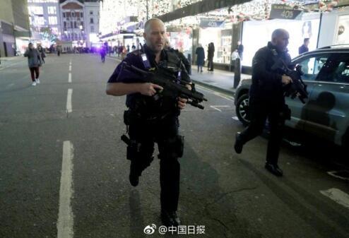 伦敦牛津街地铁站重新开放 未发现嫌疑人和枪击证据