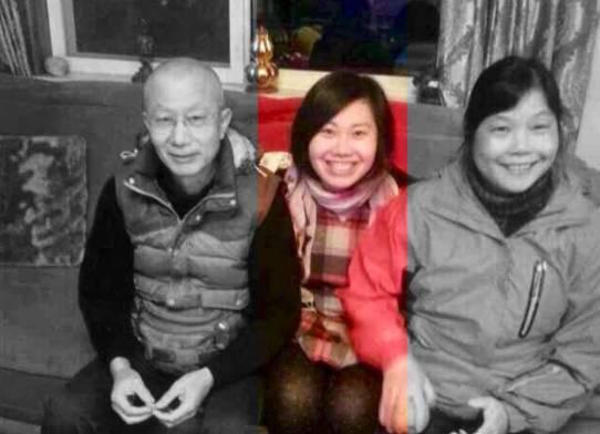 在美国为亡母鸣冤的中国姑娘