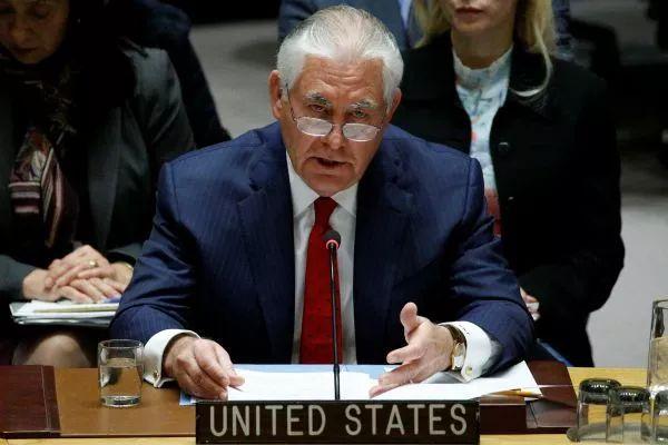 还嫌不够乱?蒂勒森声称中俄对朝鲜还不够狠