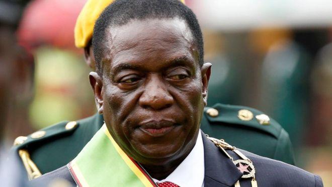 津巴布韦新总统公布人事任命 军方高官出任要职