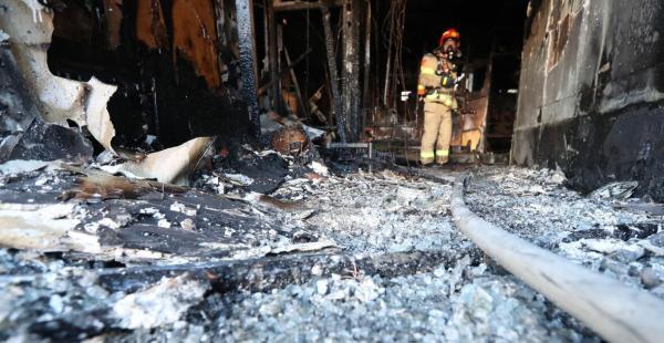 韩起火医院2周前被要求整改消防 院长出面致歉