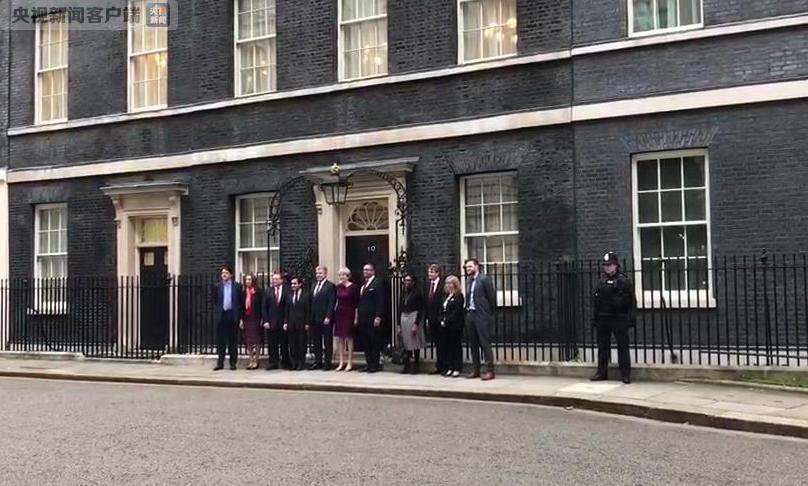 """英国内阁""""大换血""""拉开序幕 第一波人事调整出炉"""