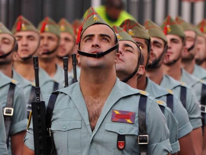 西班牙兵团体检过胖 军方:减肥自愿 超重不许阅兵