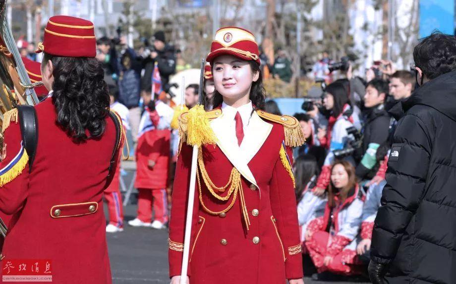 朝鲜冬奥代表队举行升旗仪式 最强啦啦队首秀引轰动