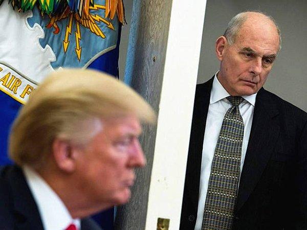 白宫办公厅主任要辞职?特朗普:他以为自己是谁